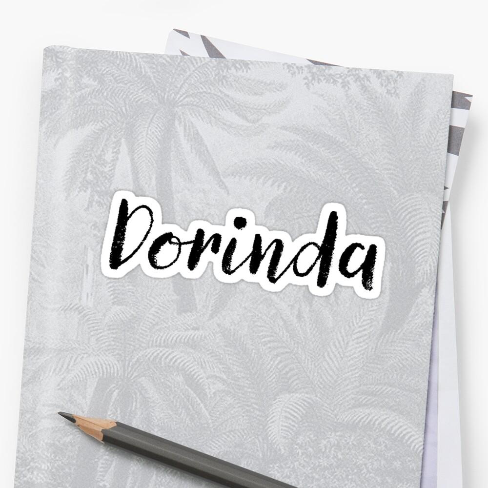 Dorinda - Custom Wife Daughter Girl Stickers Shirts by stamaigra