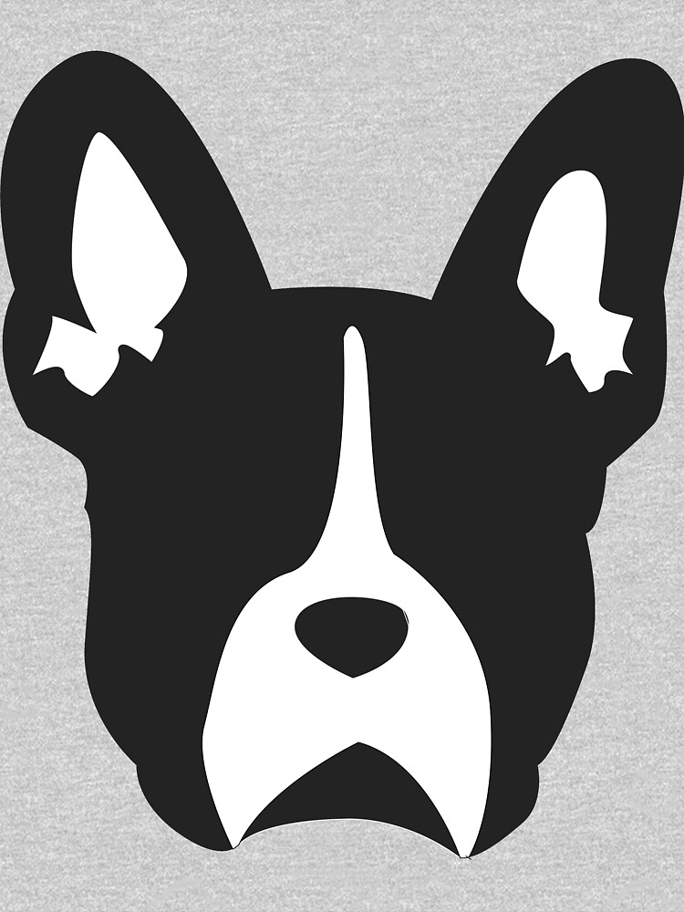 French Bulldog Outline | Minimalistic Frenchie by cassadunn