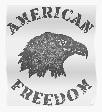 American Liberty Bald Eagle Poster