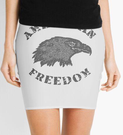 American Liberty Bald Eagle Mini Skirt