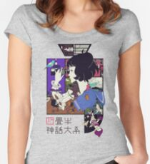 Tatami Galaxy Fitted Scoop T-Shirt