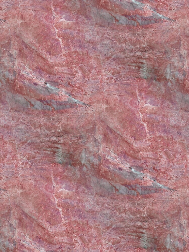 Alfetto Rosso Rust Orange And Grey Marble Pattern by jollypockets