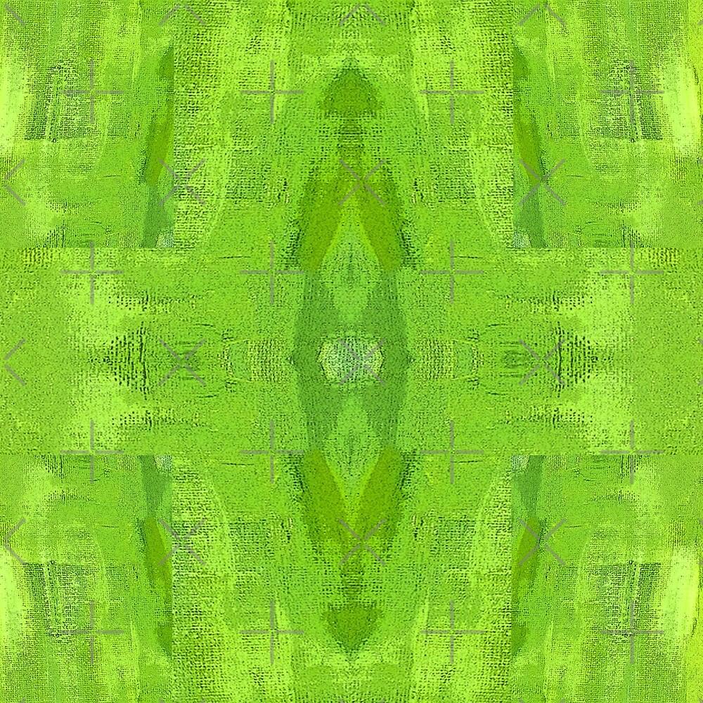 green burlap pattern by hdettman