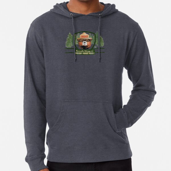 Smokey the Bear - Only You Can Prevent Forest Fires! Lightweight Hoodie