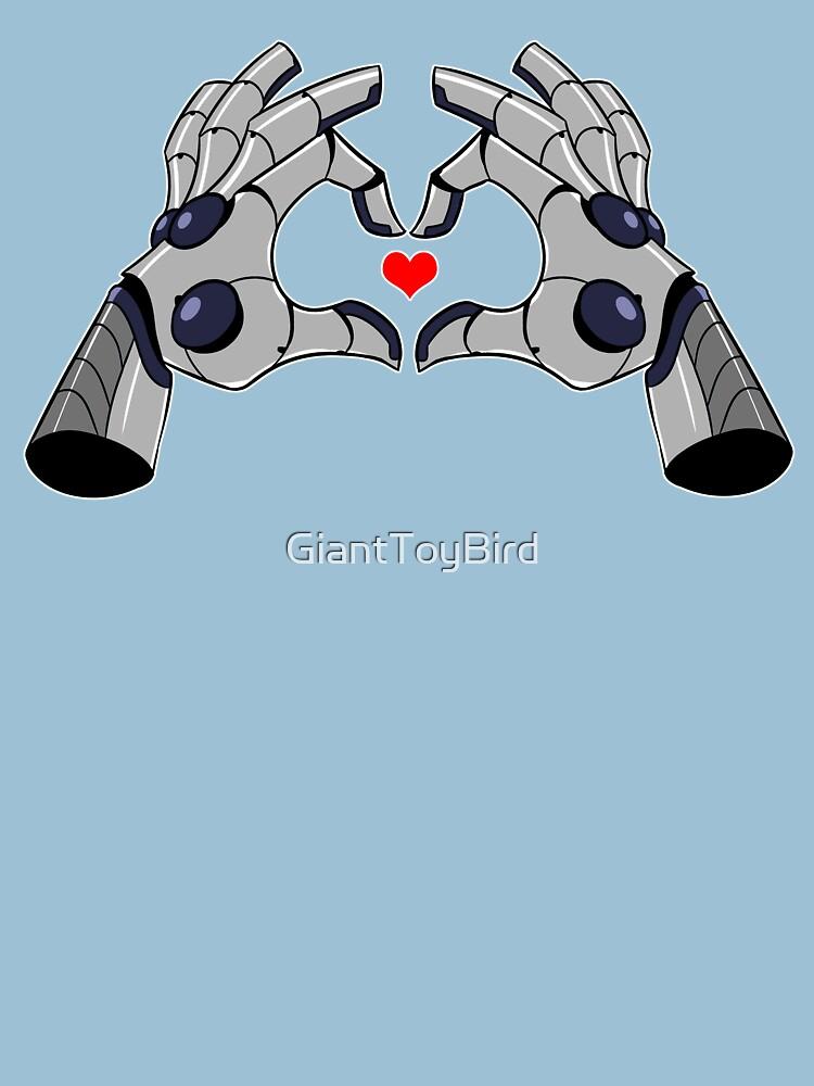 Robo Love by GiantToyBird