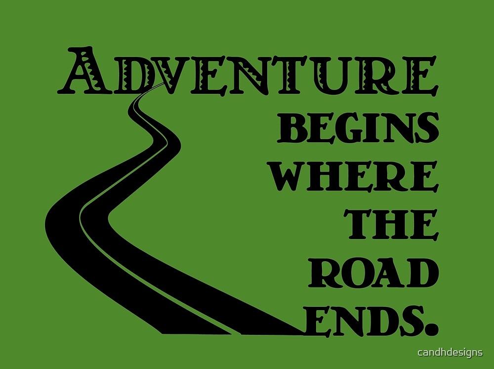 Adventure begins by candhdesigns