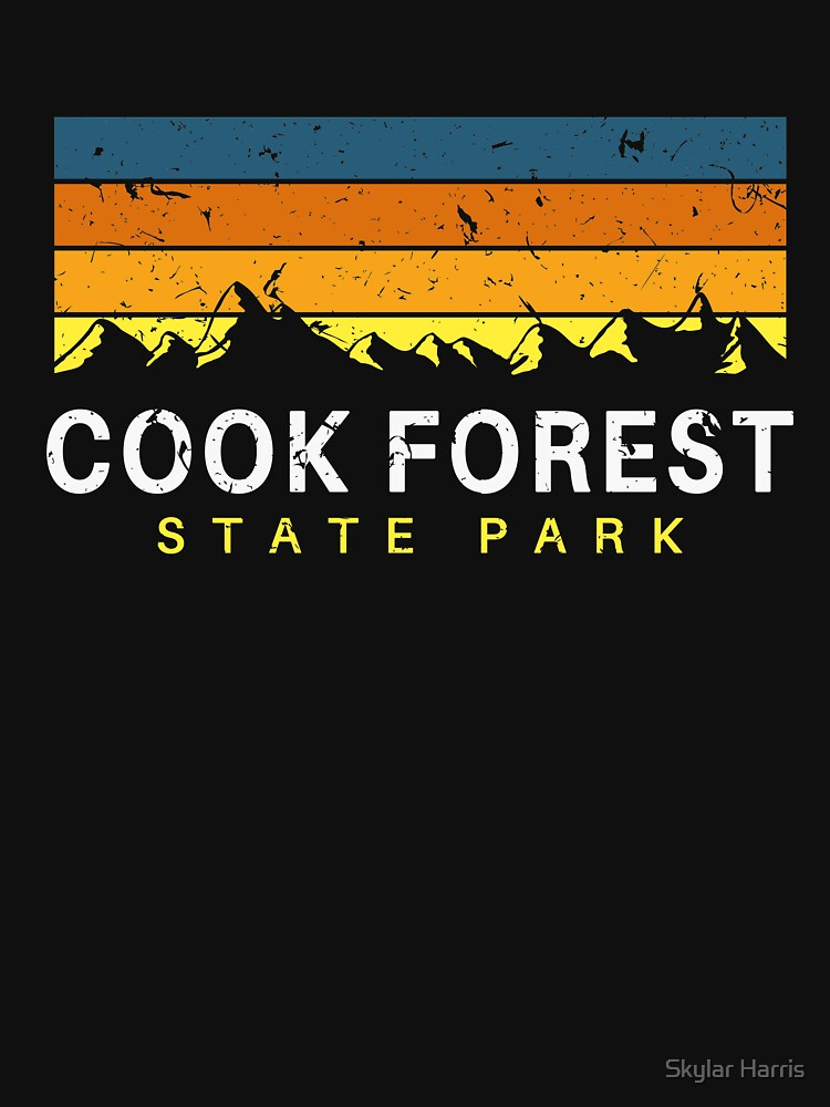 Cook Forest State Park Pennsylvania Souvenirs by fuller-factory