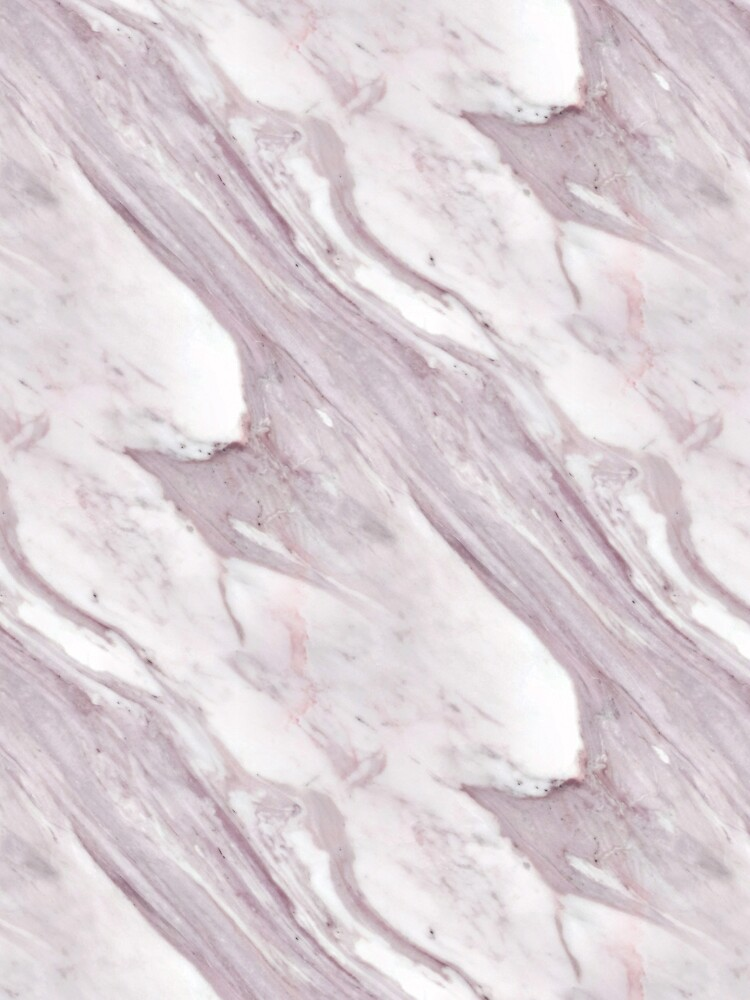 Michelangelo Rosa Taupe And White Marble Pattern by jollypockets