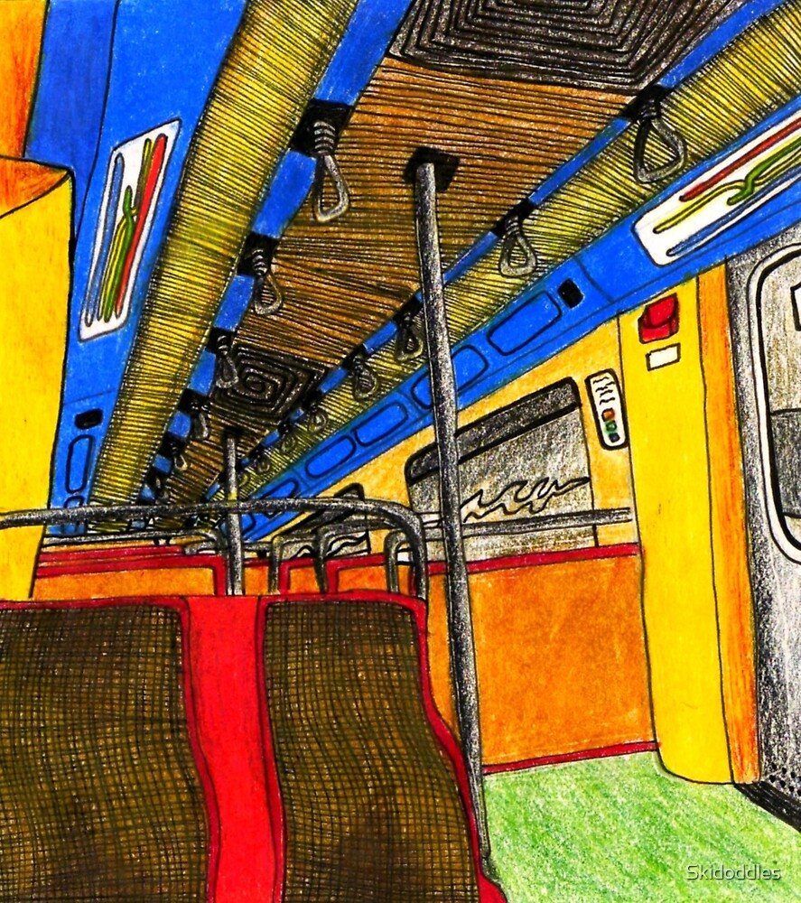 Metro de Lisboa by Skidoddles