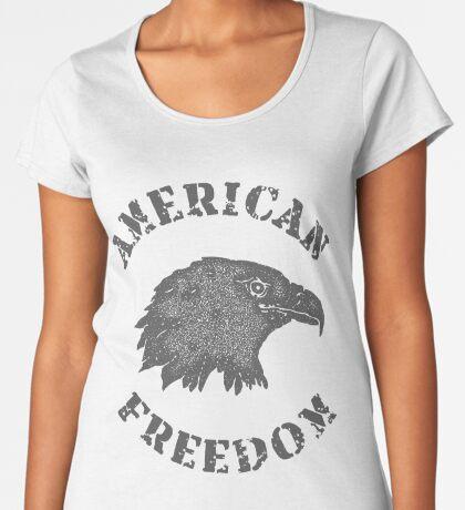 American Liberty Bald Eagle Premium Scoop T-Shirt