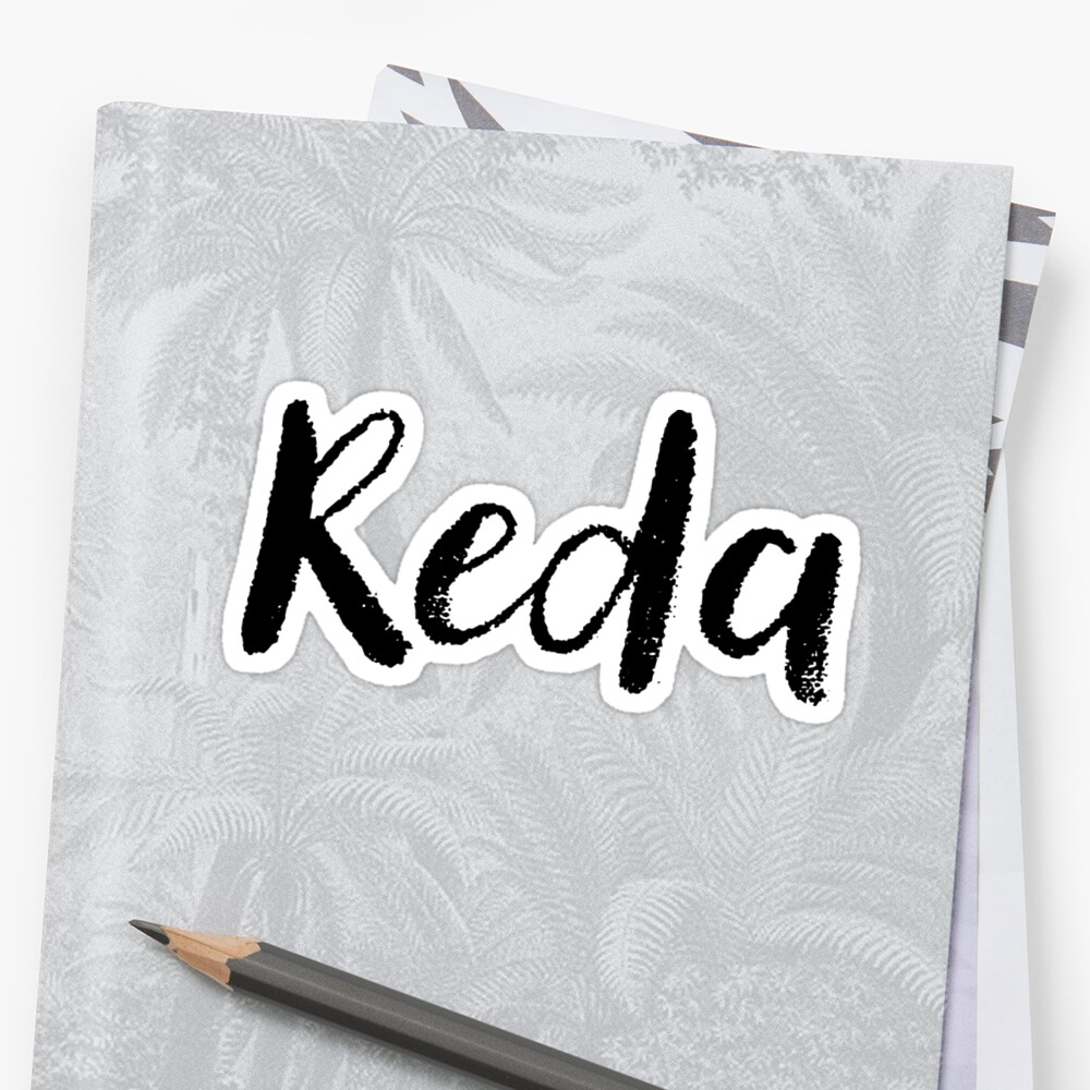 Reda - Cute Names For Girls Stickers & Shirts by soapnlardvx
