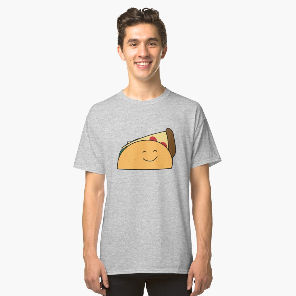 Taco Pizza Classic T-Shirt Front