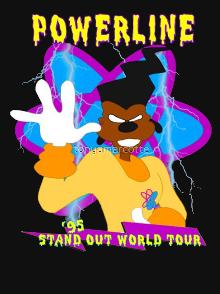 POWERLINE WORLD TOUR MERCH by tonyamarcotte