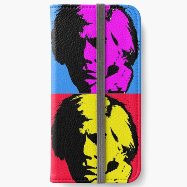 Pop Art Warhol iPhone Wallet
