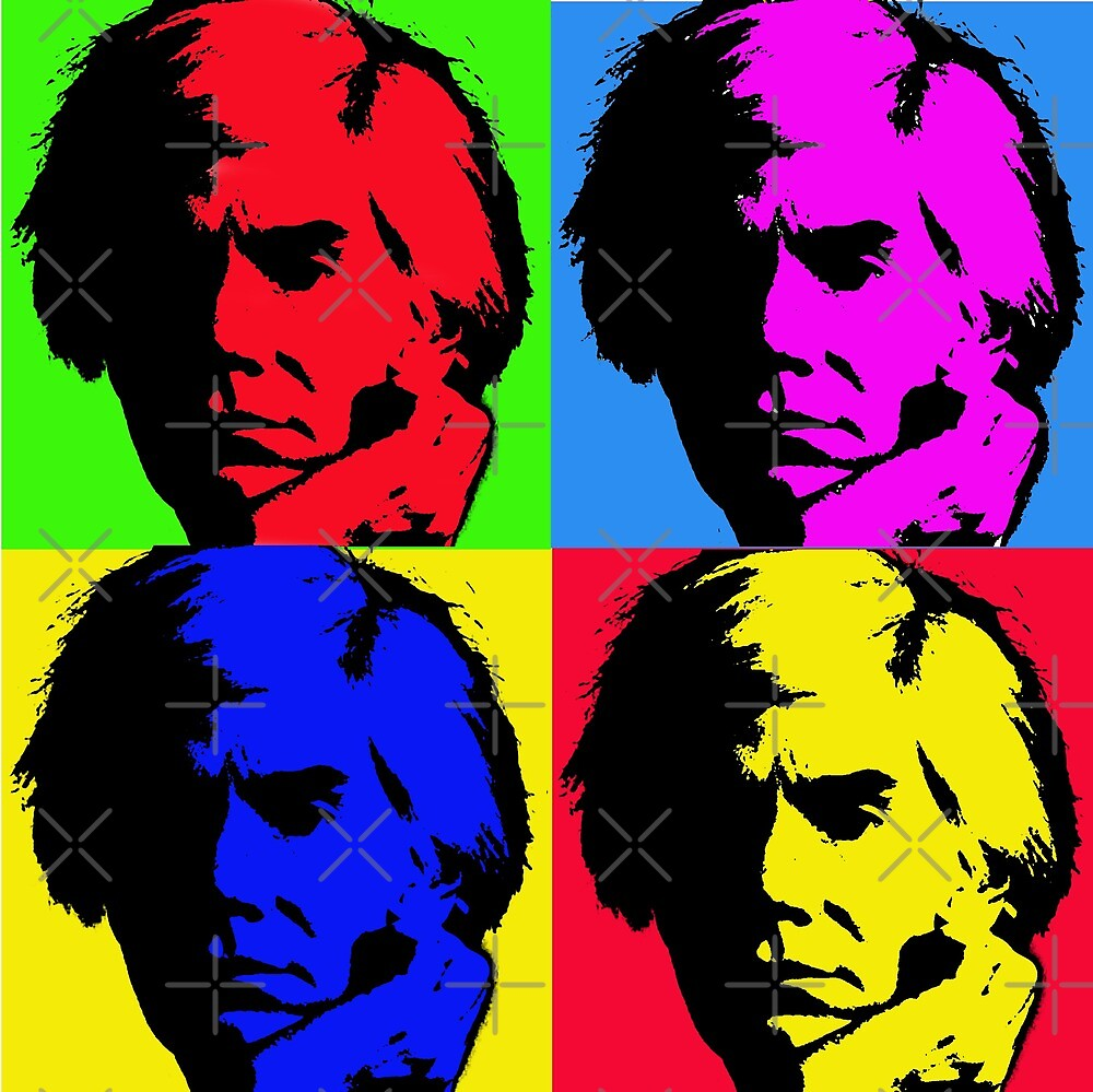 Pop Art Warhol by Mikegraphix