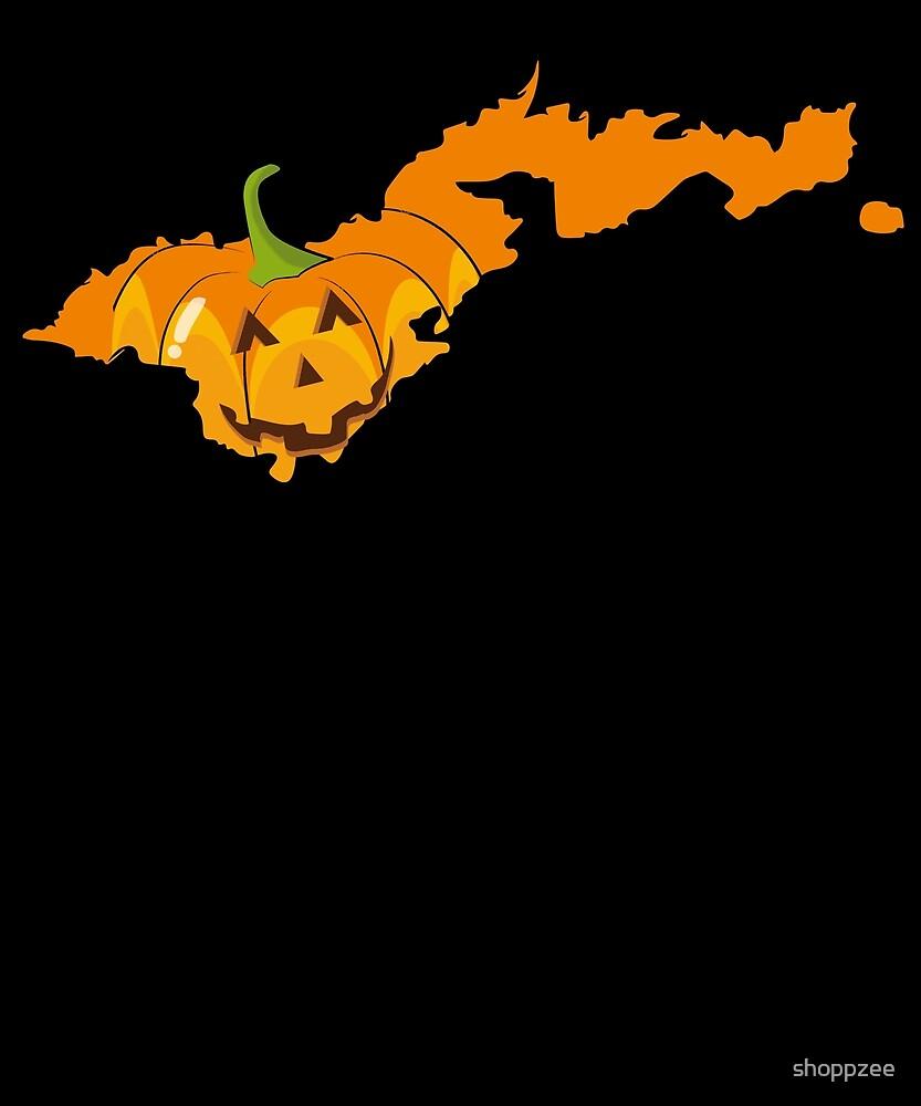 Halloween Party American Samoa Pumpkin Shirt by shoppzee