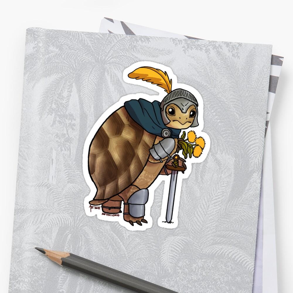 Greek Tortoise: Tyrell Sticker Front