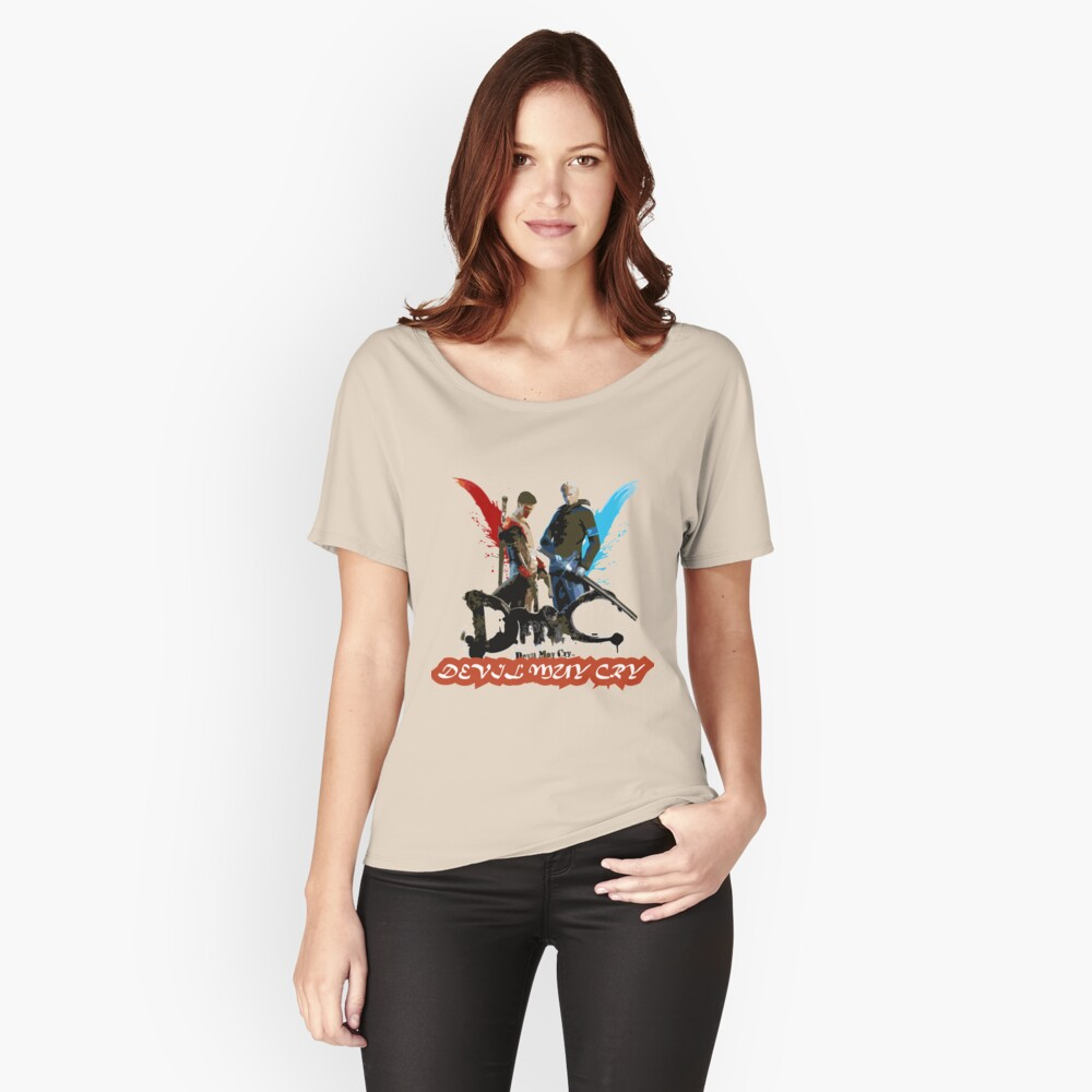 devil may cry 5 Women's Relaxed Fit T-Shirt Front