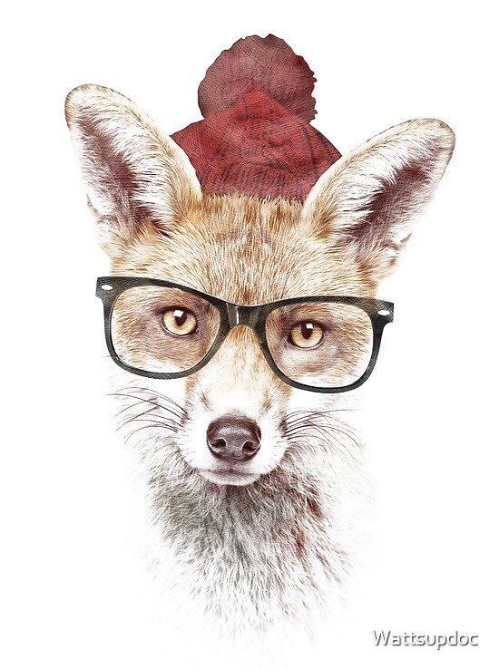 Smart Fox by Wattsupdoc
