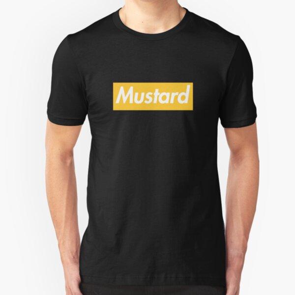 Mustard Slim Fit T-Shirt