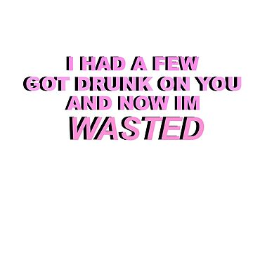 Harry Styles - Wasted Sticker by brittsticks
