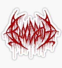 Bloodbath Vinyl Sticker Sticker