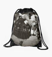 Melbourne winter fest 2014  Drawstring Bag