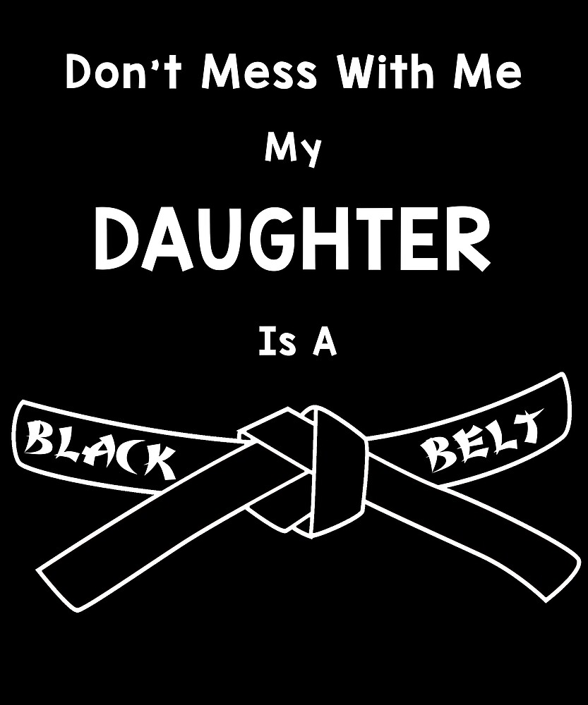 Daughter Black Belt Karate Martial Arts by mattp27