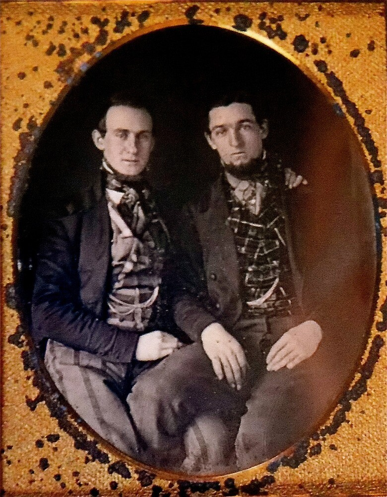 Two men 1845 by planete-livres