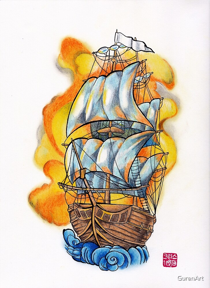 Ship by GurenArt