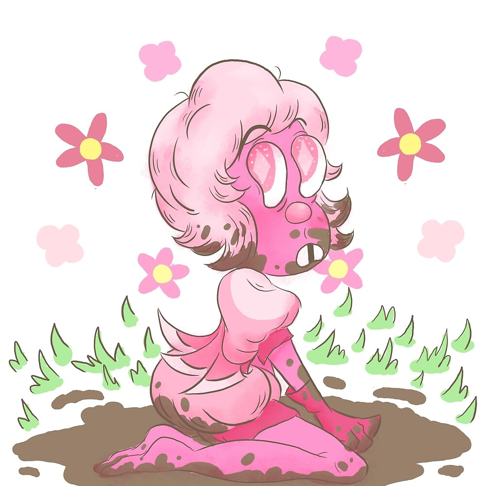 Pink in mud by gross-girl99