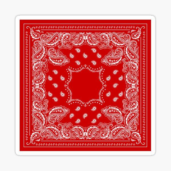 Bandana Bandana Red -   Sticker