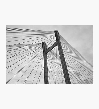 Line bridge Photographic Print