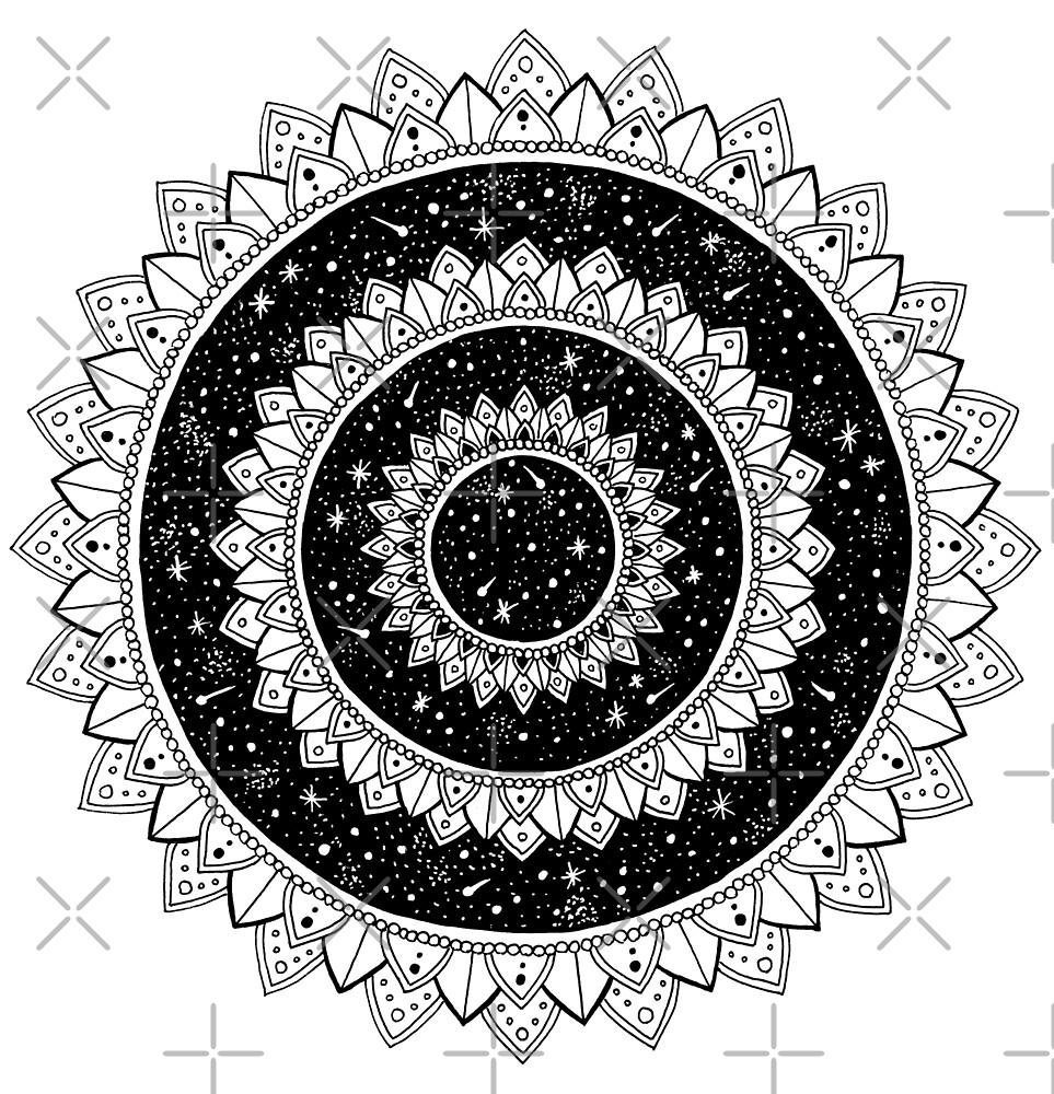 Galaxy Mandala by georgiamason