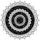 Galaxy Mandala von georgiamason