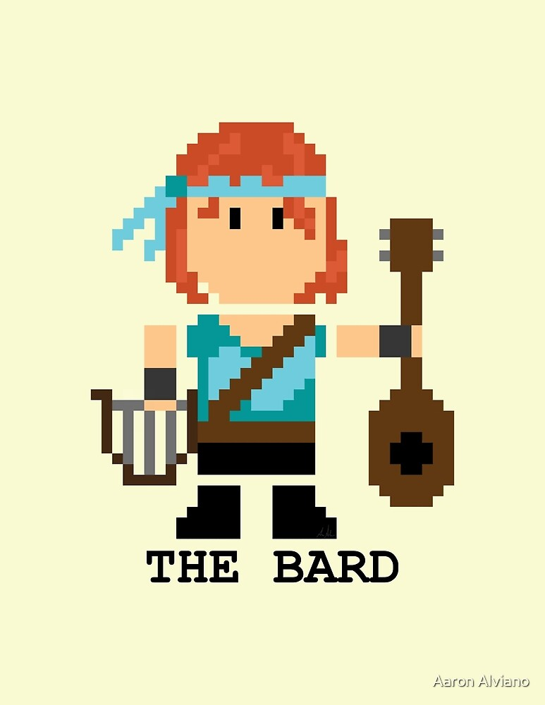 The Bard by Aaron Alviano
