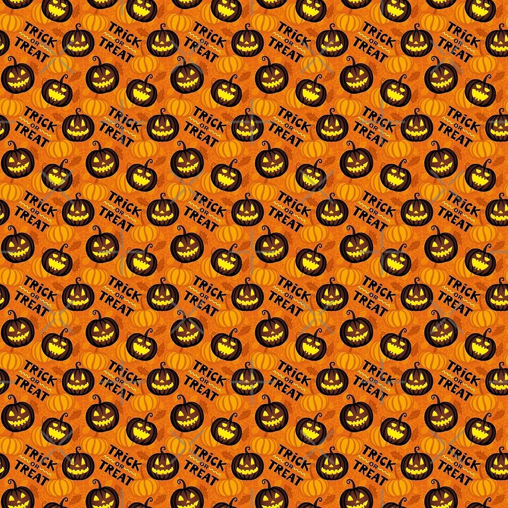 Pumpkin Trick or Treat by iamdanry