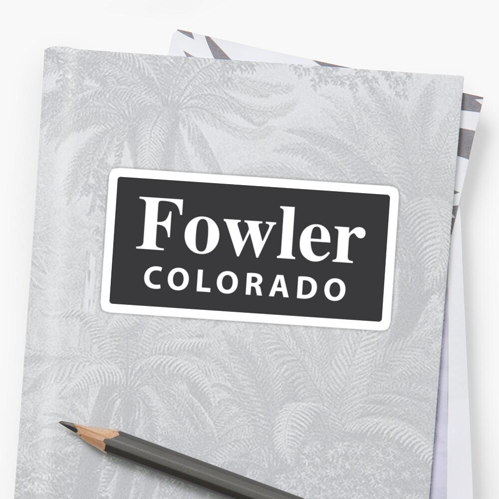 Fowler, Colorado by EveryCityxD2