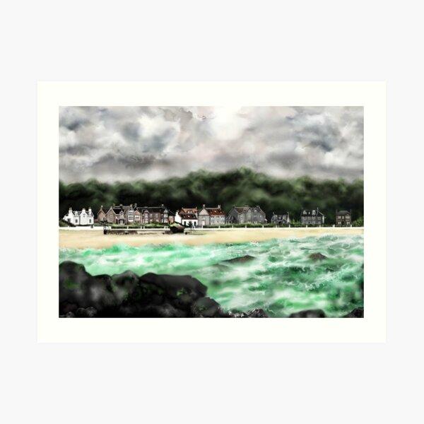 Millport Shore-Front, Isle of Cumbrae, West Coast of Scotland [1] Art Print