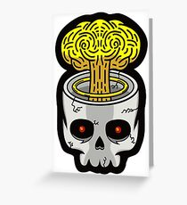 Skully Greeting Card