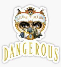 Michael Jackson Dangerous Sticker