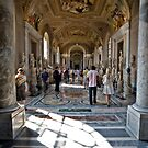 Halls of the Musei Vaticani by shutterjunkie