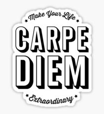 Carpe Diem. Sticker