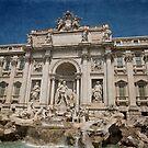Trevi Fountain by shutterjunkie