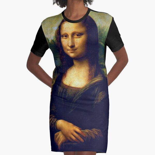 Mona Lisa T-Shirt Kleid