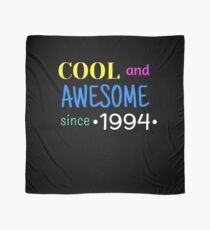 Cool And Awesome Since 1994 Scarf