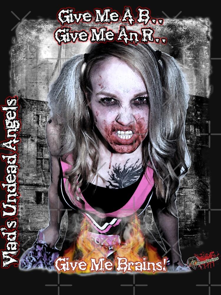 Undead Angels: Zombie Vampire - Modeled by EnforcerDesigns