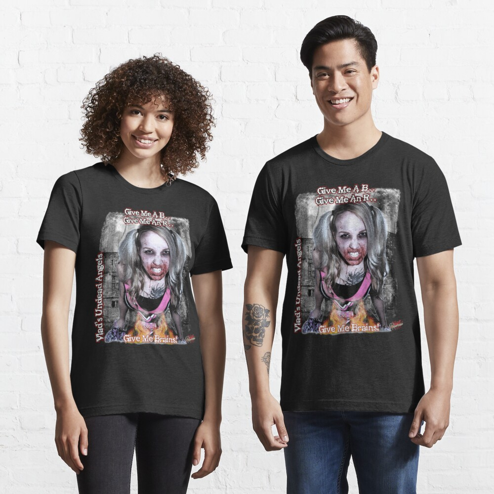 Undead Angels: Zombie Vampire - Modeled Essential T-Shirt