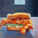 Soft Crab Sandwich by Phyllis Dixon