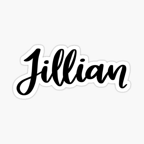Jillian  Sticker